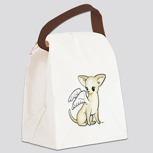 Tumbles Chihuahua Angel Canvas Lunch Bag