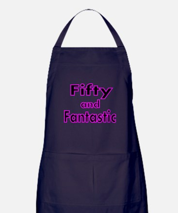 FIFTY AND FANTASTIC 2 Apron (dark)