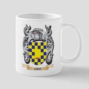 Giro Coat of Arms - Family Crest Mugs