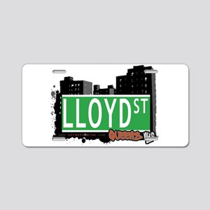 LLOYD STREET, QUEENS, NYC Aluminum License Plate
