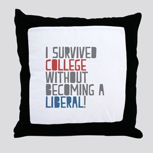 Isurvived Throw Pillow