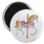 """Carousel Horse 2.25"""" Magnet (10 pack)"""
