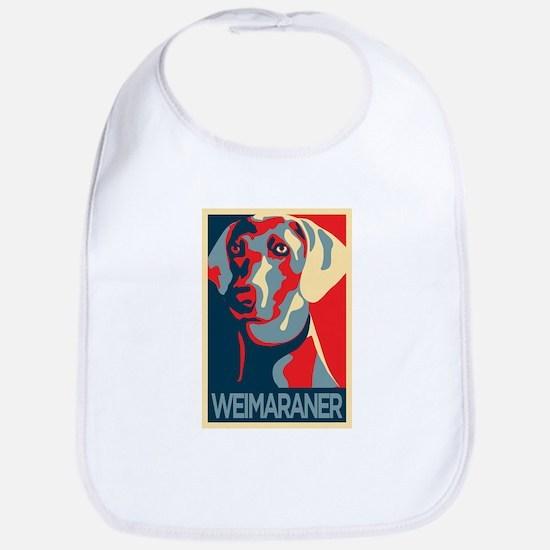 The Regal Weimaraner Bib