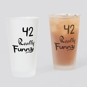 42 Really Funny Birthday Designs Drinking Glass