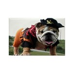 BULLDOG SMILES Rectangle Magnet (10 pack)