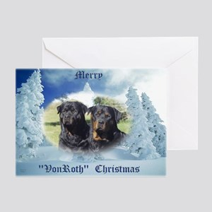VonRoth Christmas Cards (Pk of 10)