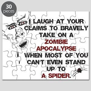 Zombies vs Spiders Puzzle