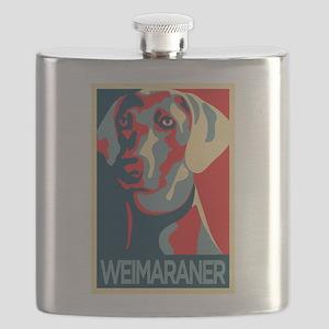 The Regal Weimaraner Flask