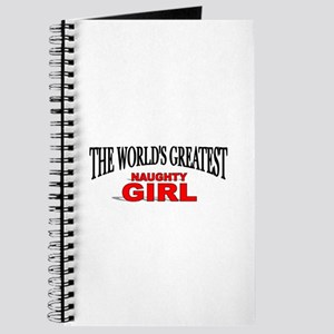 """The World's Greatest Naughty Girl"" Journal"