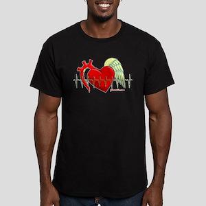Heart Surgery Survivor Men's Fitted T-Shirt (dark)