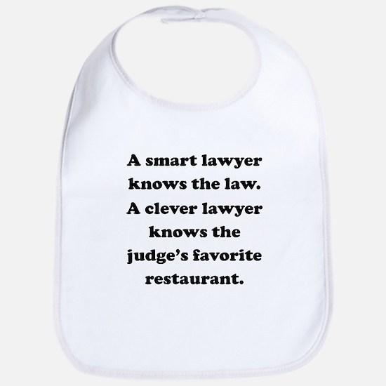 A Clever Lawyer Bib