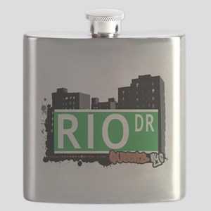 RIO DRIVE, QUEENS, NYC Flask