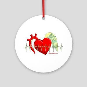 Heart Surgery Survivor Ornament (Round)