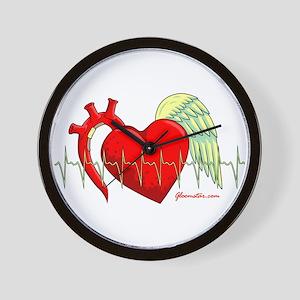 Heart Surgery Survivor Wall Clock