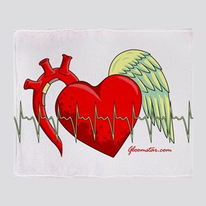 Heart Surgery Survivor Throw Blanket