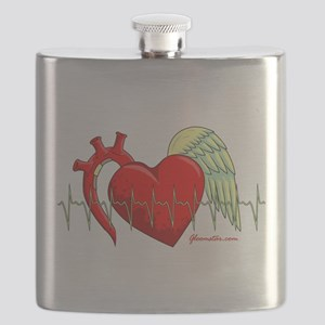 Heart Surgery Survivor Flask