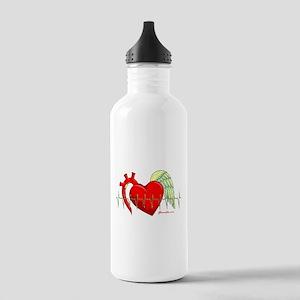 Heart Surgery Survivor Stainless Water Bottle 1.0L