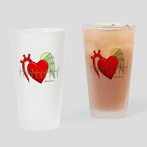 Heart Surgery Survivor Drinking Glass