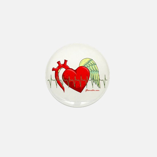 Heart Surgery Survivor Mini Button