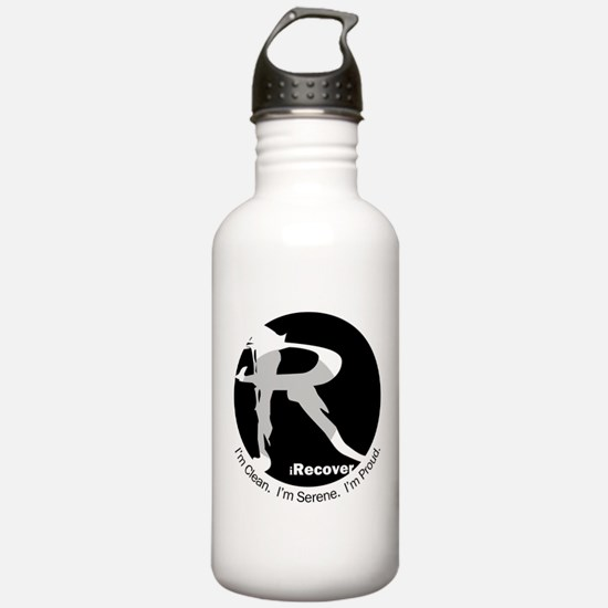 iRecover - Clean. Serene. Proud Water Bottle