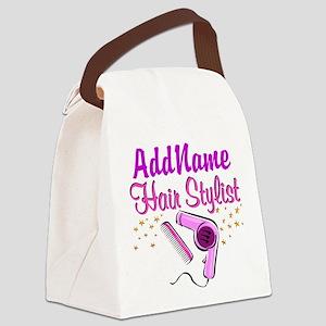 FOXY HAIR STYLIST Canvas Lunch Bag