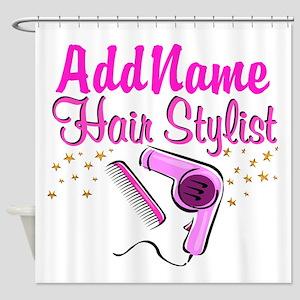 FOXY HAIR STYLIST Shower Curtain