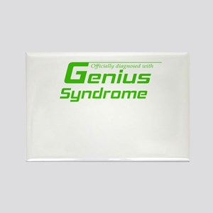 Genius Syndrome Rectangle Magnet