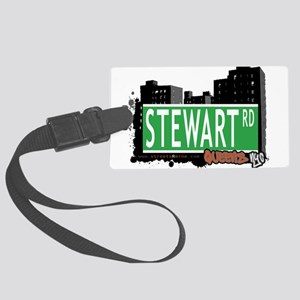 STEWART ROAD, QUEENS, NYC Large Luggage Tag