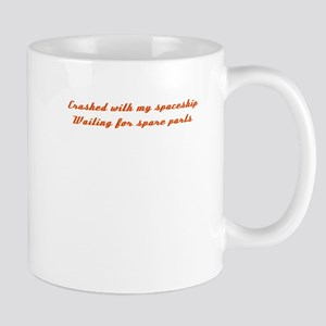 Crashed with my spaceship Mug