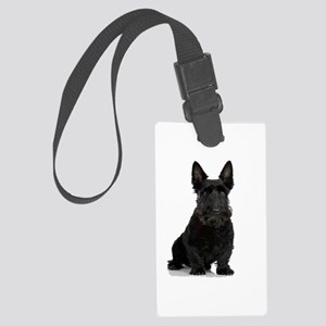 Scottish Terrier Large Luggage Tag