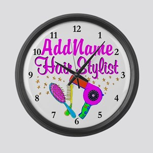 1ST PLACE STYLIST Large Wall Clock