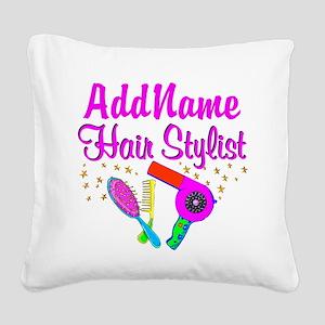 1ST PLACE STYLIST Square Canvas Pillow