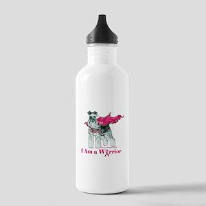 Schnauzer Warrior Water Bottle