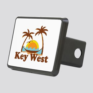 Key West - Palm Trees Design. Rectangular Hitch Co