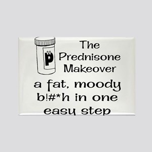 Prednisone Make Over Rectangle Magnet