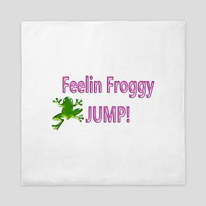 Feelin Froggy P&G Queen Duvet