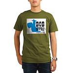 bob lives Organic Men's T-Shirt (dark)