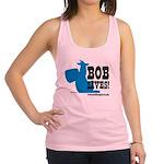 bob lives Racerback Tank Top