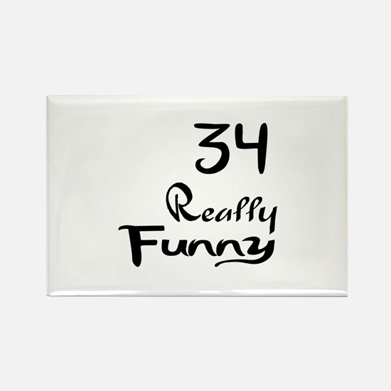 34 Really Funny Birthday Designs Rectangle Magnet