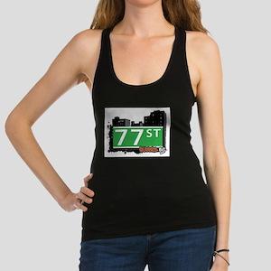 77 STREET, QUEENS, NYC Racerback Tank Top