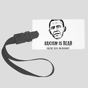 racism4 Large Luggage Tag