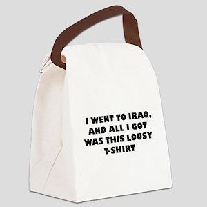 IWENTTOIRAQ Canvas Lunch Bag