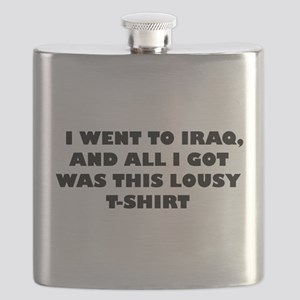 IWENTTOIRAQ Flask