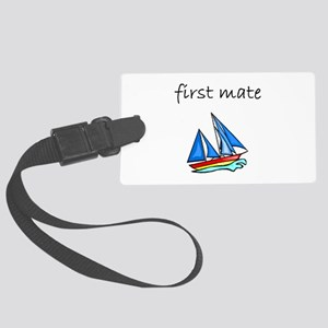 first mate Luggage Tag