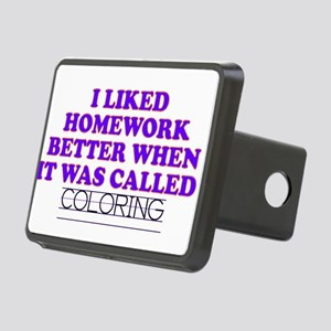 11coloring Rectangular Hitch Cover
