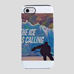 The Ice is Calling Hockey iPhone 7 Tough Case