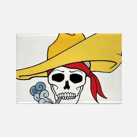 Cool Cartoon Halloween Smoking Skull Hat Bandana R
