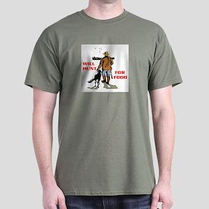 HUNT FOR FOOD Dark T-Shirt