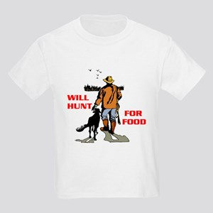 HUNT FOR FOOD Kids T-Shirt