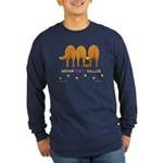Nothin' Butt Tollers Long Sleeve Dark T-Shirt